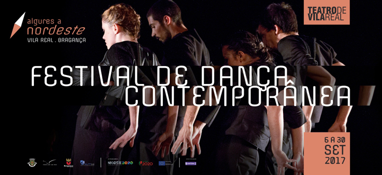 Cartaz Festival de danca contemporanea