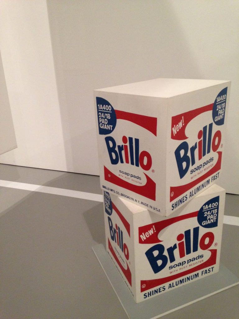 Brillo Box de Andy Warhol