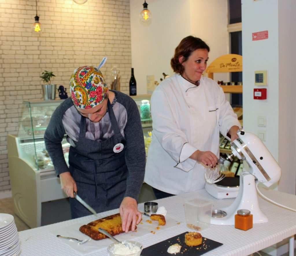 Showcooking, Open day do armazém, no souk mercado do mundo