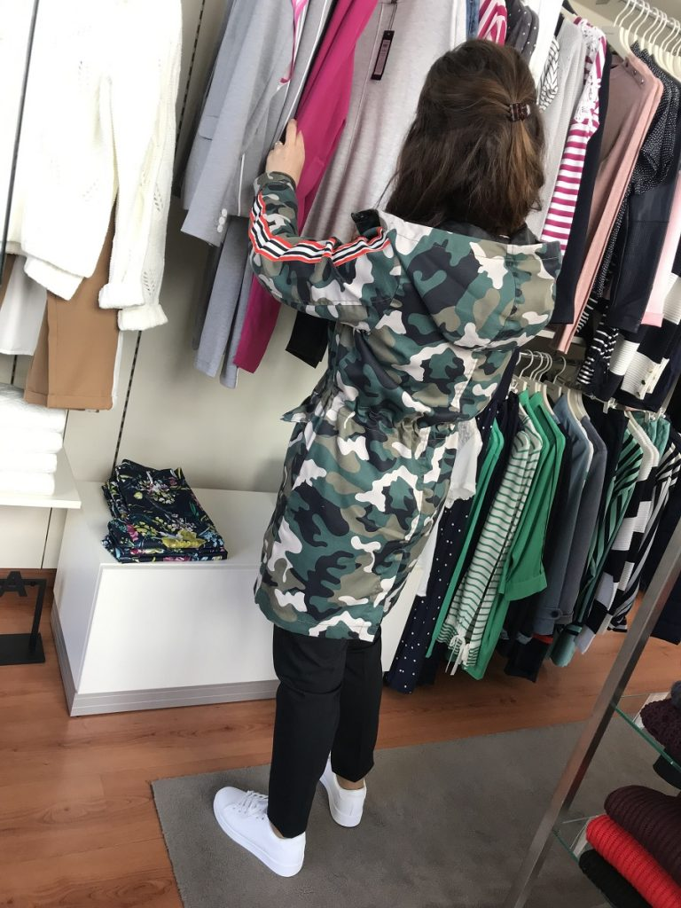 casaco sporty/army na Shanna Boutique